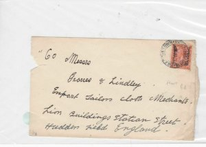 bechuanaland stamps cover front Ref 9983