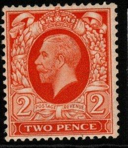 GB SG442 1935 2d ORANGE MTD MINT