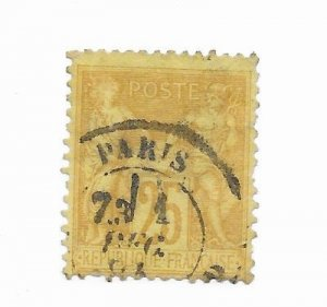 France #99 Perf Used - Stamp - CAT VALUE $5.00