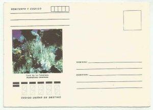 Cub1980´s Postal Stationery Snail, Coral de los Canarreos New