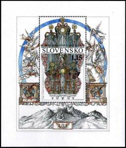 HERRICKSTAMP NEW ISSUES SLOVAKIA Sc.# 776 Reformation Souvenir Sheet
