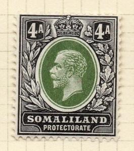 Somaliland Protectorate 1912 Early Issue Fine Mint Hinged 4a. 297822