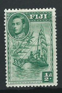 Fiji  GVI SG 249b  MH perf 12