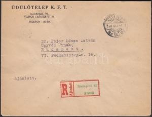 Hungary stamp Inflation cover 1946 WS203404