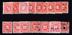US STAMP BOB DOCUMENTARY CARMINE STAMP COLLECTION LOT #W1