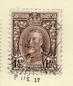 Southern Rhodesia 1930s Early Issue Fine Used 1.5d. NW-170464
