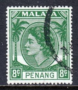Malaya (Penang) - Scott #5 - Used - SCV $1.25