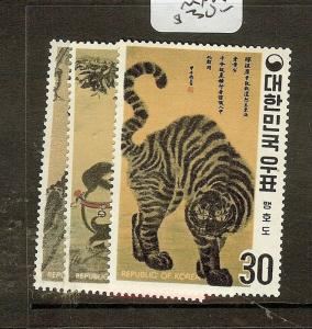 KOREA (P0502B) ANIMALS SC718-20  MNH