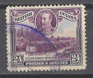 COLLECTION LOT # 3622 BRITISH GUIANA #216 1934 CV+$12