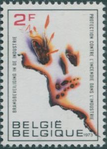 Belgium 1973 SG2297 2f Fire MNH
