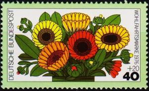 Germany. 1976 40pf+20pf S.G.1797 Unmounted Mint