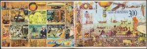 Serbia stamp Millennium stamp-booklet 2000 MNH MH 2 (Mi 185-191) WS179651