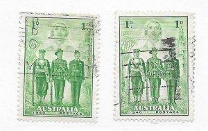 Australia #184 Used - Stamp - CAT VALUE $3.25 PICK ONE