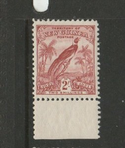New Guinea 1931 defs 2/- Fresh MM Marginal SG 159