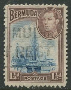 Bermuda #119 KGVI Used  Scott CV. $1.50