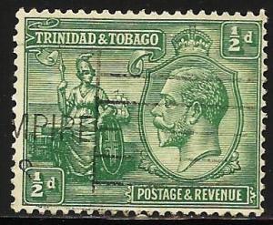 Trinidad and Tobago 1922 Scott# 21 Used