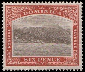 Dominica Scott 30 Unused hinged.