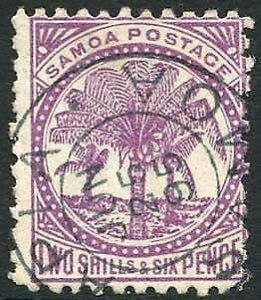 Samoa SG64 6d Wmk upright fine used