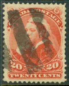 EDW1949SELL : CANADA 1893 Scott #46 Used. Very Fine & Fresh. Catalog $125.00.