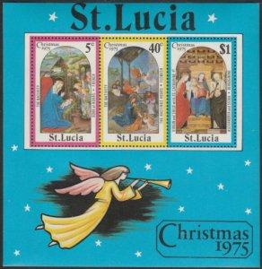 St Lucia #378a MNH Souvenir Sheet