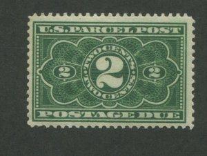 1913 United States Parcel Post Postage Due Stamp #JQ2 Mint Never Hinged F/VF OG