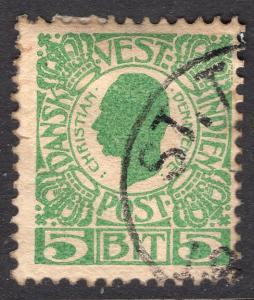 DANISH WEST INDIES SCOTT 31