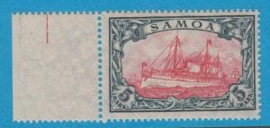 GERMAN COLONIES  SAMOA 73 MINT LIGHTLY HINGED OG* NO FAULTS EXTRA FINE !