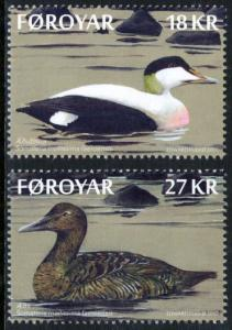 Faroe Islands 2017 Scott #675-676 Mint Never Hinged