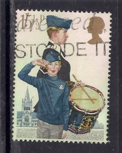 GB 1982 QE2 15 1/2p Youth Organizations used SG 1179 ( T374 )