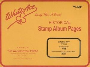 WHITE ACE 2017 Vatican City Singles Album Supplement V-68