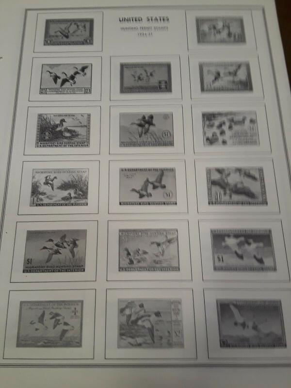 H.E.Harris Pages Duck Stamp & More