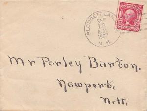 United States New Hampshire Blodgett Landing 1907 doane 2/2  1893-1955.