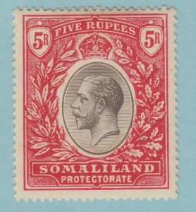 SOMALILAND 63 MINT  HINGED OG * NO FAULTS VERY FINE! 1912 - 1919