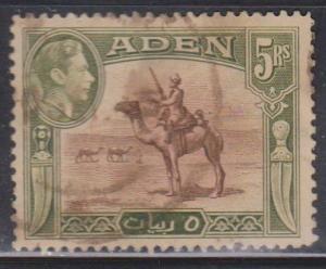 ADEN Scott # 26 Used - KGVI & Camel Corpsman