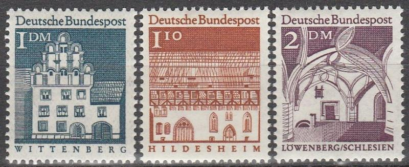 Germany #948-9, 951  MNH  CV $4.10   (A6500)