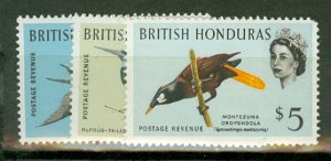 BH: British Honduras 167-178 MNH CV $75.60; scan shows only a few