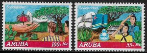 Aruba #B27-8 MNH Set - Solidarity