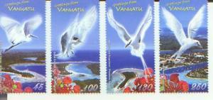 Greetings from Vanuatu, Set of 4 Stamps, VANU08008*