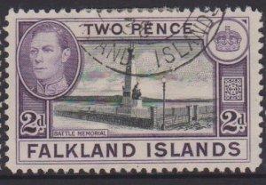 Falkland Islands Sc#86 Used
