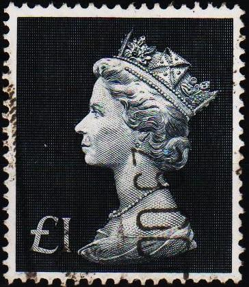 Great Britain. 1970 £1 S.G.831b Fine Used