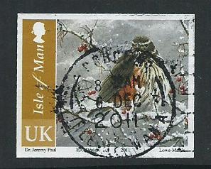 Isle of Man  Fine Used  SG 1699 no perf inscribed UK