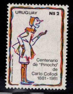 Uruguay Scott 1123 MNH** Pinocchio stamp