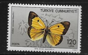 TURKEY, 2374, MINT HINGED, BUTTERFLY TYPE