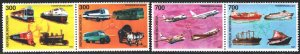 Indonesia. 1997. 1720-23. Transport, horse, ships. MNH.