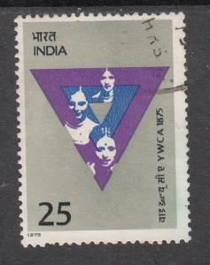 India  1975  # 661   YWCA   Used   03690   SD