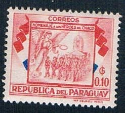 Paraguay Soldiers Marching 10 - pickastamp (PP9R505)