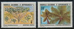 New Caledonia 448-449 MNH (1979)