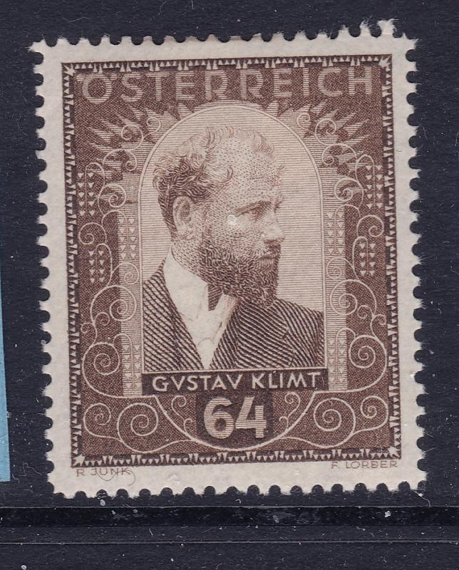 Austria the 1932 Painters 64Gr MH