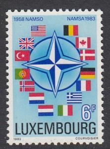 Luxembourg 684 mnh