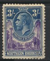 Northern Rhodesia  SG 13 SC# 13 Used  - see details